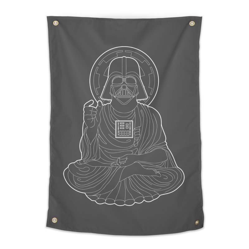 Darth Buddha Home Tapestry by dZus's Artist Shop