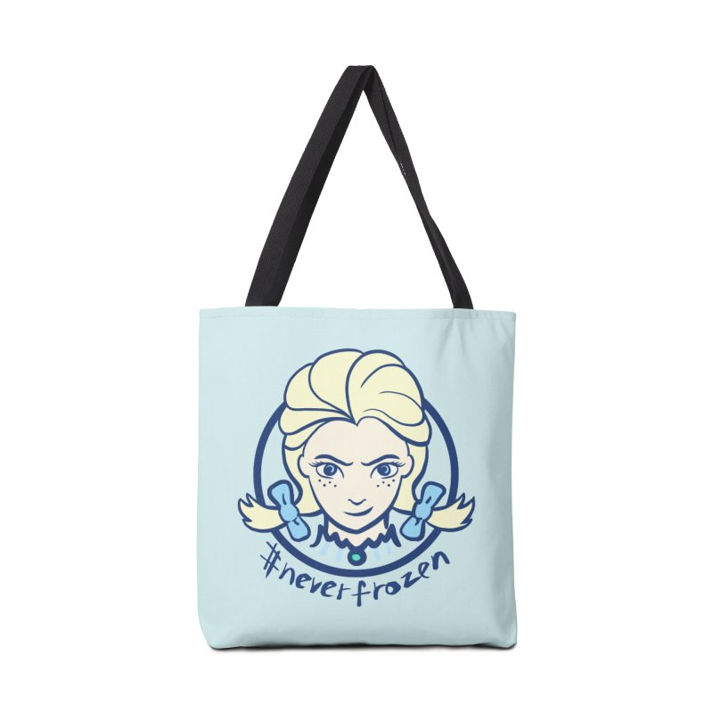 #neverfrozen Accessories Tote Bag Bag by dZus's Artist Shop