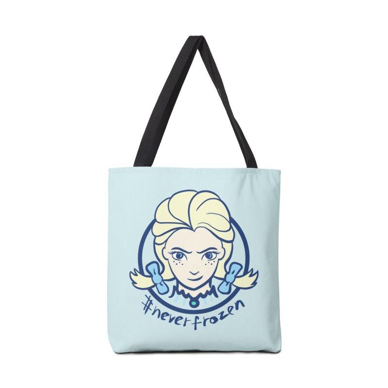 #neverfrozen Accessories Bag by dZus's Artist Shop
