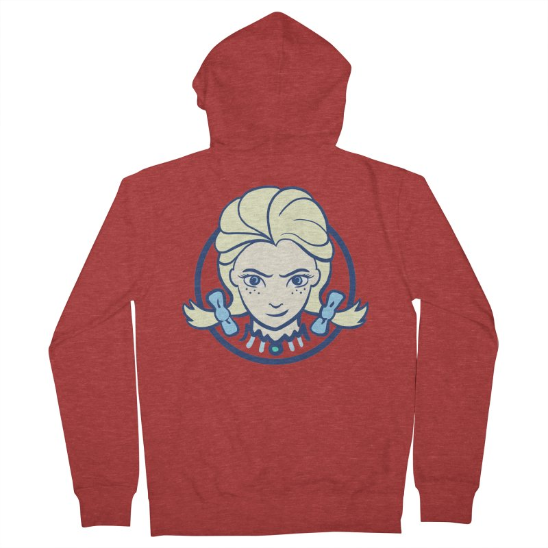 #neverfrozen Women's French Terry Zip-Up Hoody by dZus's Artist Shop