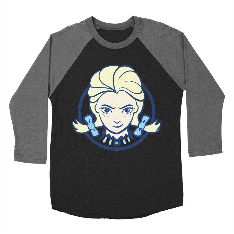 #neverfrozen Women's Baseball Triblend Longsleeve T-Shirt by dZus's Artist Shop