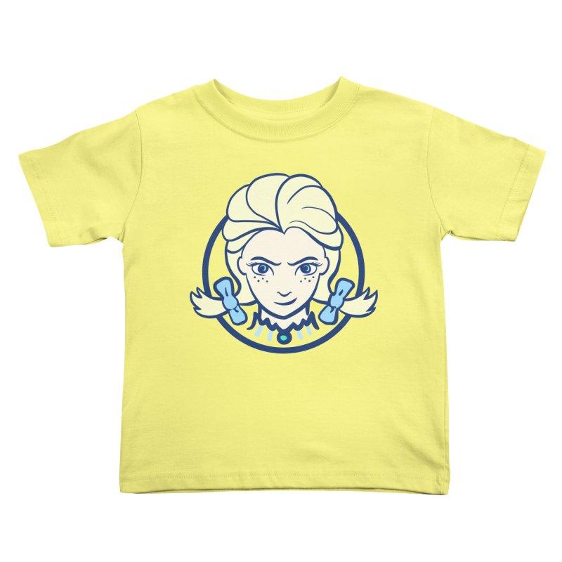#neverfrozen Kids Toddler T-Shirt by dZus's Artist Shop