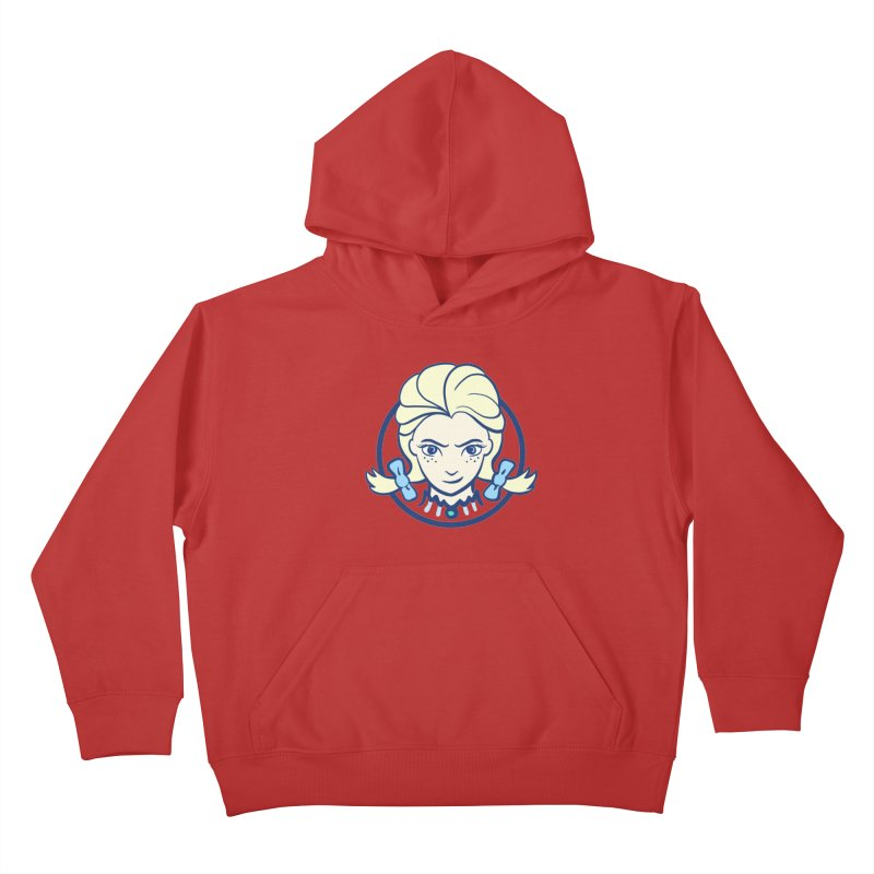 #neverfrozen Kids Pullover Hoody by dZus's Artist Shop