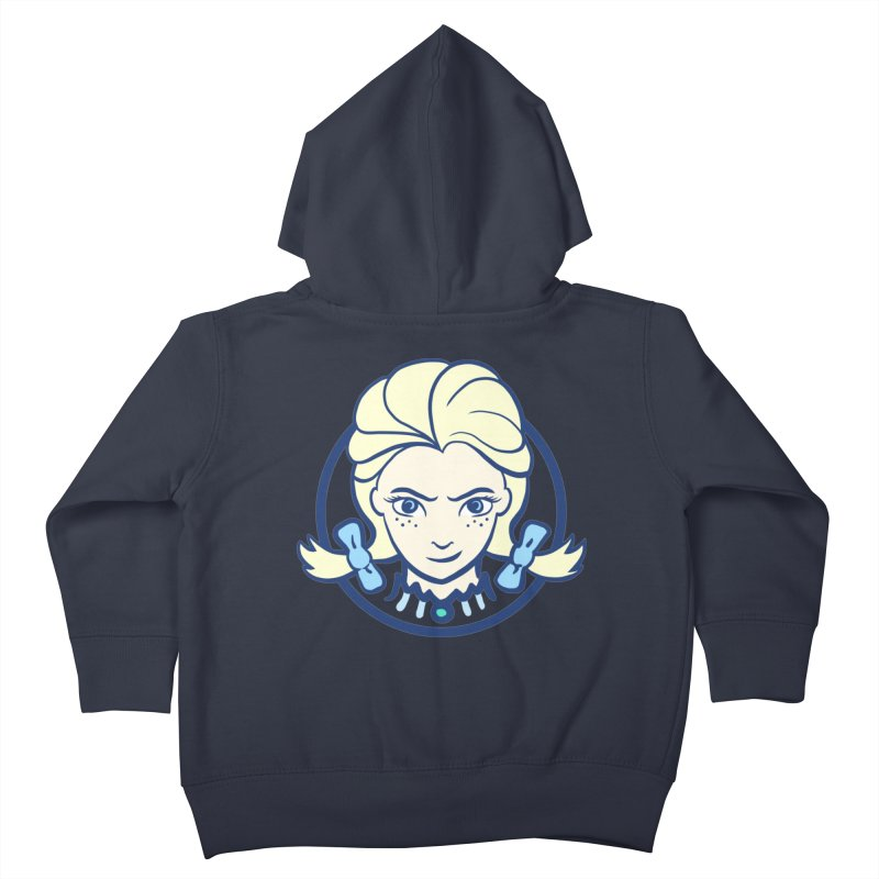 #neverfrozen Kids Toddler Zip-Up Hoody by dZus's Artist Shop