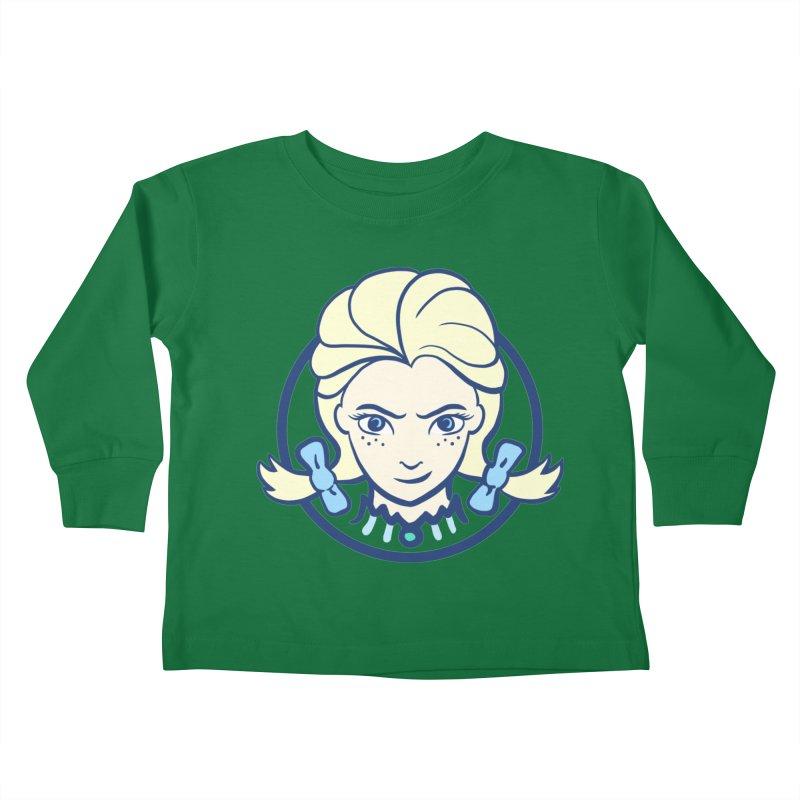 #neverfrozen Kids Toddler Longsleeve T-Shirt by dZus's Artist Shop