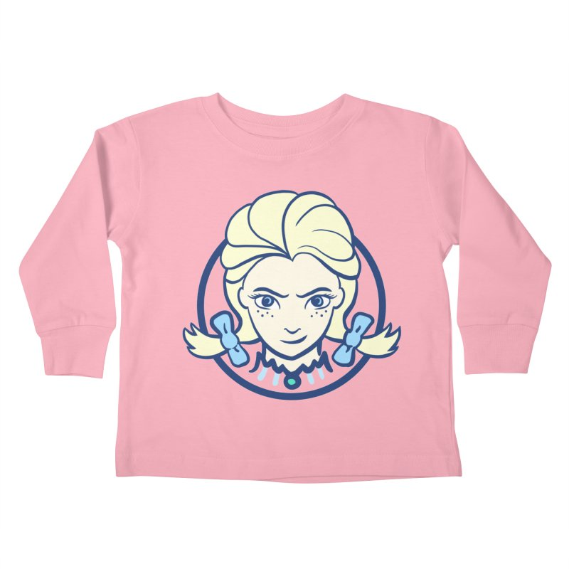 #neverfrozen Kids Toddler Longsleeve T-Shirt by dZus's Artist Shop