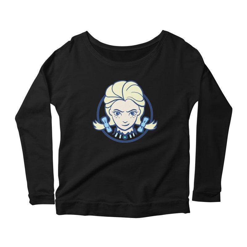 #neverfrozen Women's Scoop Neck Longsleeve T-Shirt by dZus's Artist Shop
