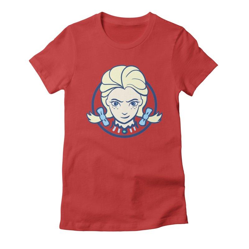 #neverfrozen Women's Fitted T-Shirt by dZus's Artist Shop