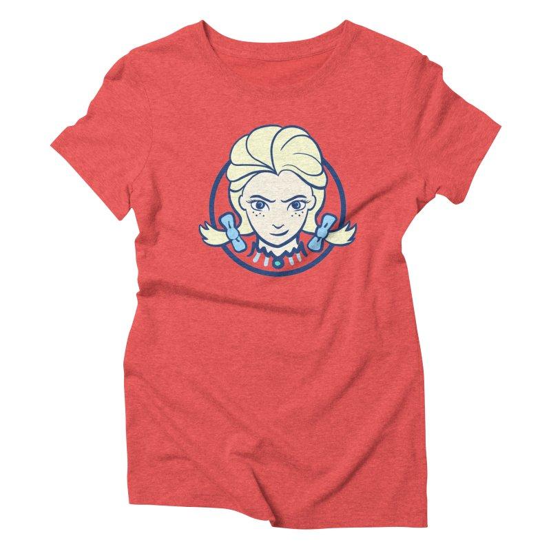 #neverfrozen Women's Triblend T-Shirt by dZus's Artist Shop