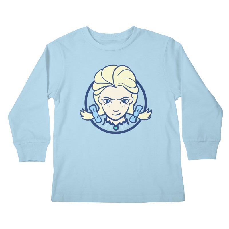 #neverfrozen Kids Longsleeve T-Shirt by dZus's Artist Shop