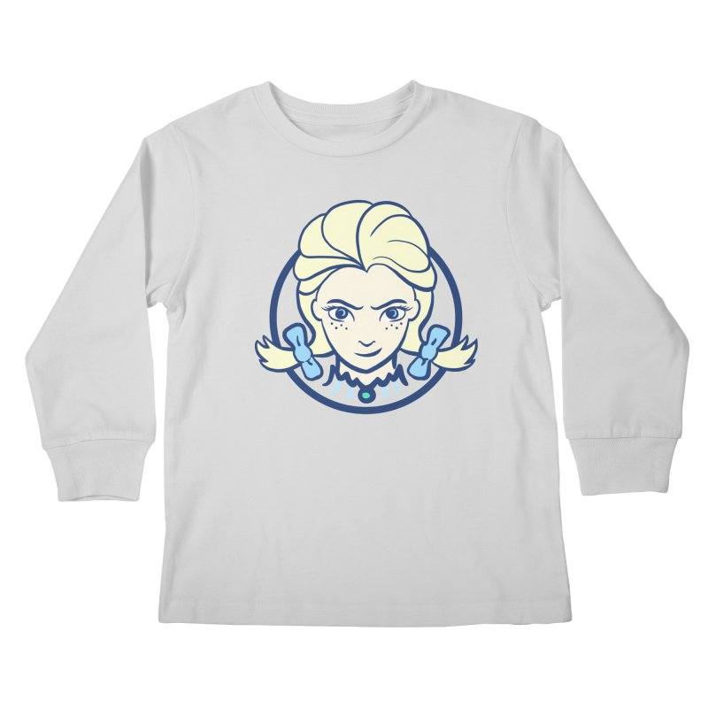 #neverfrozen Kids Longsleeve T-Shirt by dZus's Artist Shop