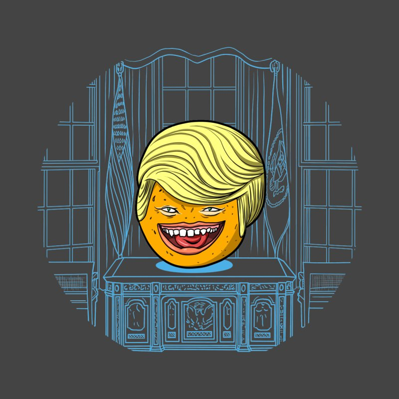 Annoying Orange in the White House Home Fine Art Print by dZus's Artist Shop