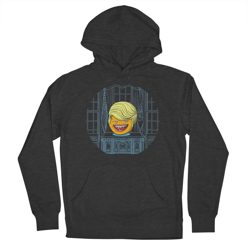 Annoying Orange in the White House Women's French Terry Pullover Hoody by dZus's Artist Shop