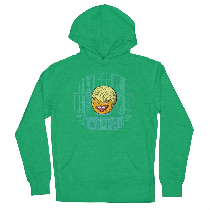 Annoying Orange in the White House Men's French Terry Pullover Hoody by dZus's Artist Shop