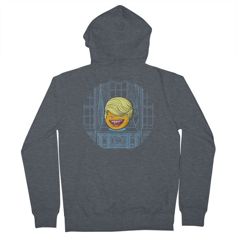 Annoying Orange in the White House Women's Zip-Up Hoody by dZus's Artist Shop