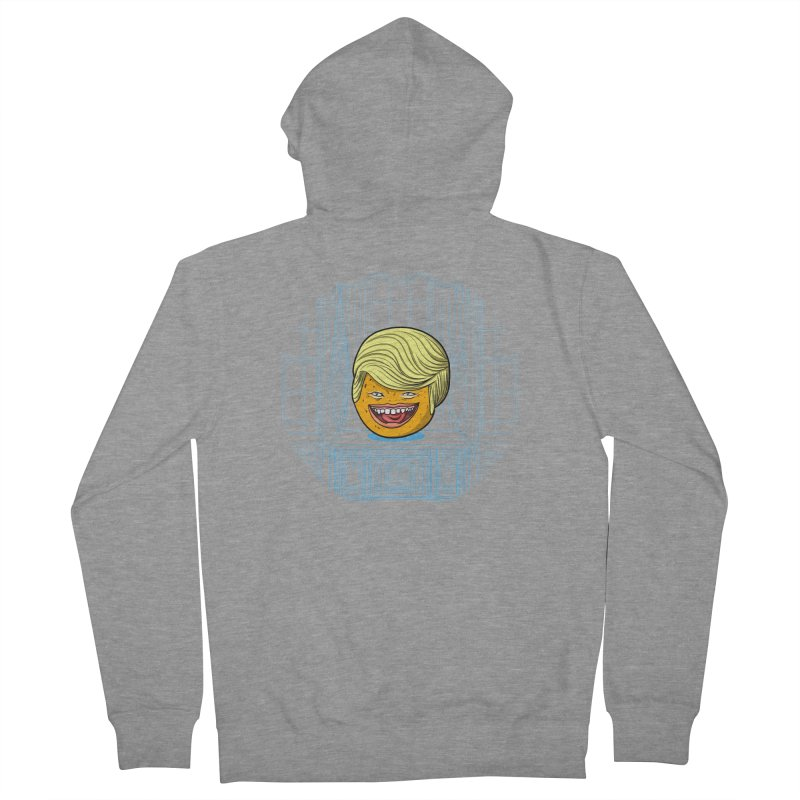 Annoying Orange in the White House Men's French Terry Zip-Up Hoody by dZus's Artist Shop