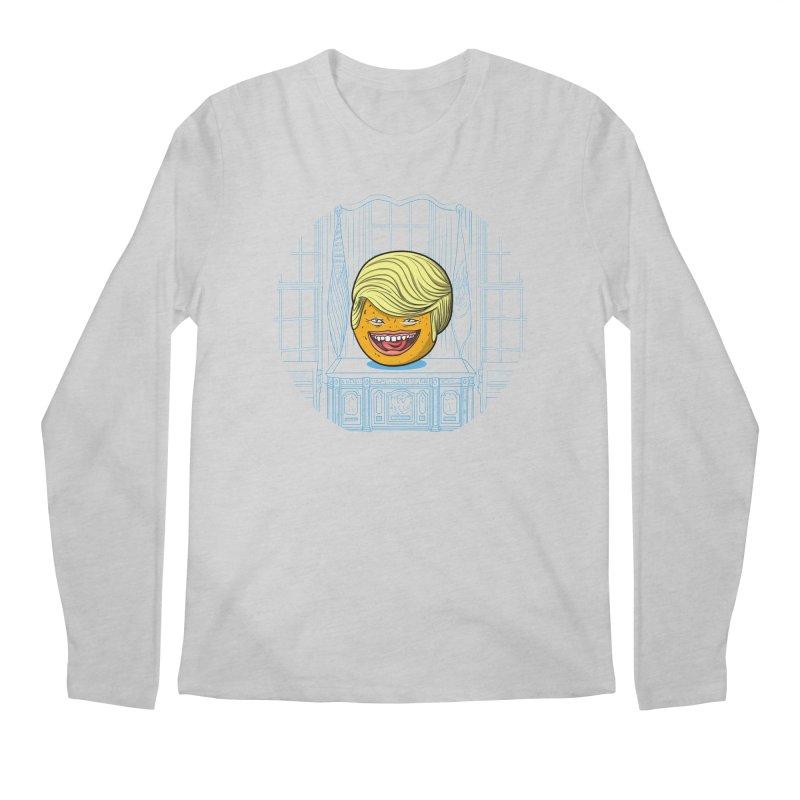 Annoying Orange in the White House Men's Longsleeve T-Shirt by dZus's Artist Shop