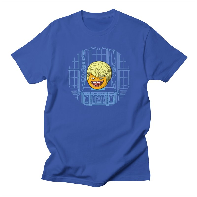 Annoying Orange in the White House Women's Unisex T-Shirt by dZus's Artist Shop