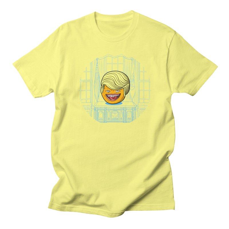 Annoying Orange in the White House Men's T-Shirt by dZus's Artist Shop