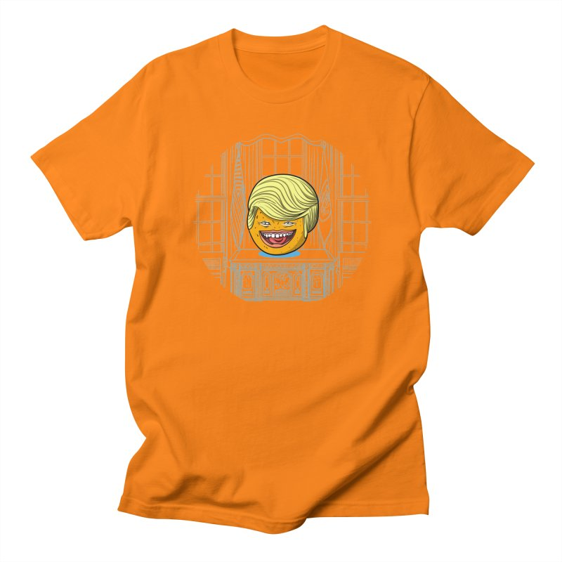Annoying Orange in the White House Men's Regular T-Shirt by dZus's Artist Shop
