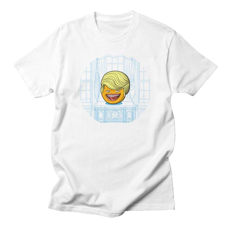 Annoying Orange in the White House Women's Unisex T-Shirt by dZus's Artist Shop