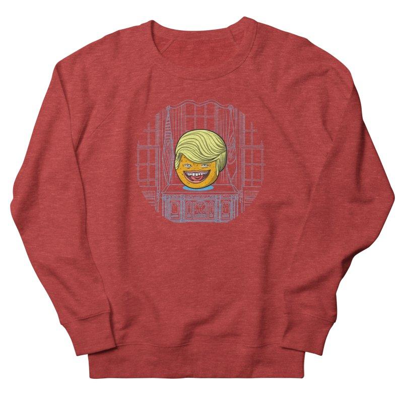 Annoying Orange in the White House Women's Sweatshirt by dZus's Artist Shop