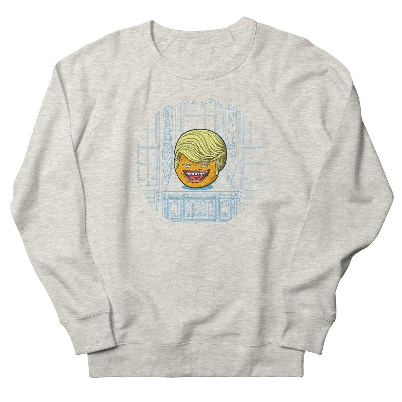 Annoying Orange in the White House Men's Sweatshirt by dZus's Artist Shop