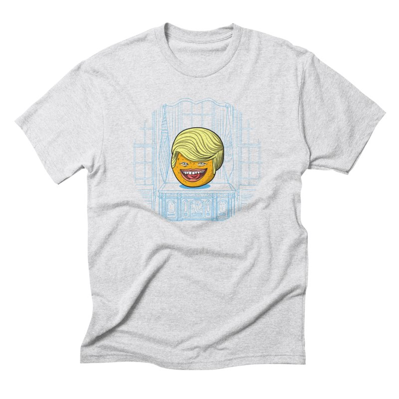 Annoying Orange in the White House Men's Triblend T-Shirt by dZus's Artist Shop