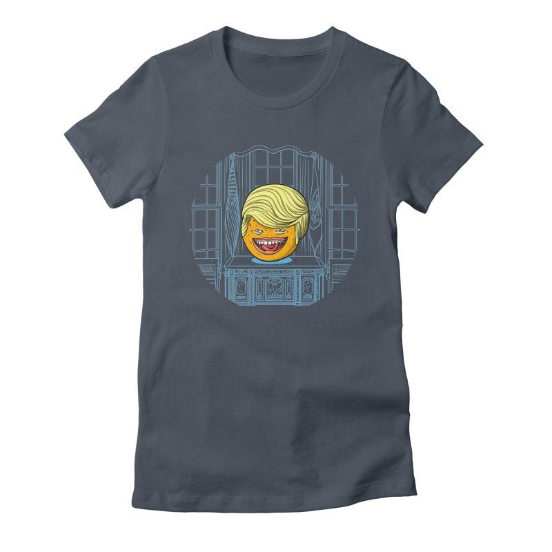 Annoying Orange in the White House Women's T-Shirt by dZus's Artist Shop