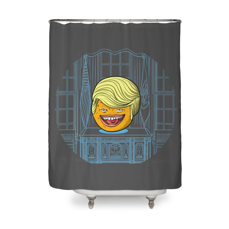 Annoying Orange in the White House Home Shower Curtain by dZus's Artist Shop