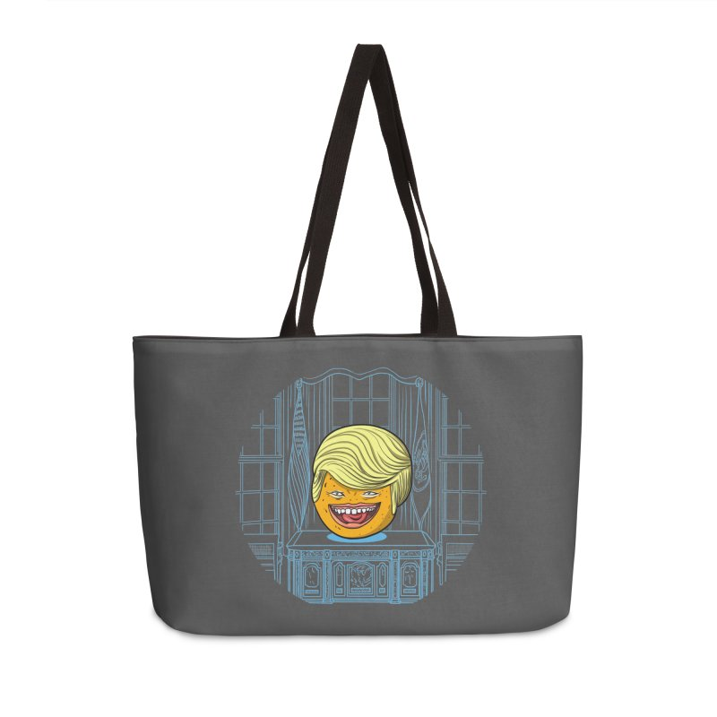 Annoying Orange in the White House Accessories Weekender Bag Bag by dZus's Artist Shop
