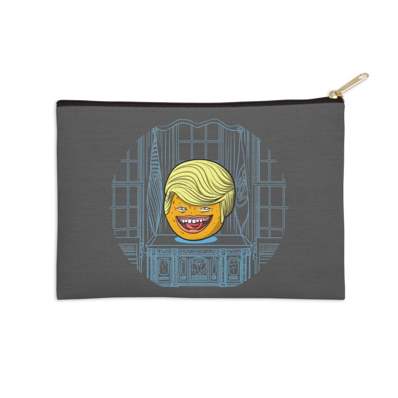 Annoying Orange in the White House Accessories Zip Pouch by dZus's Artist Shop