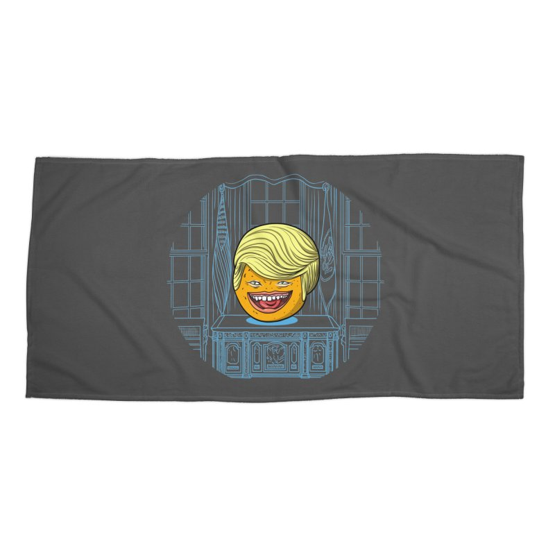 Annoying Orange in the White House Accessories Beach Towel by dZus's Artist Shop