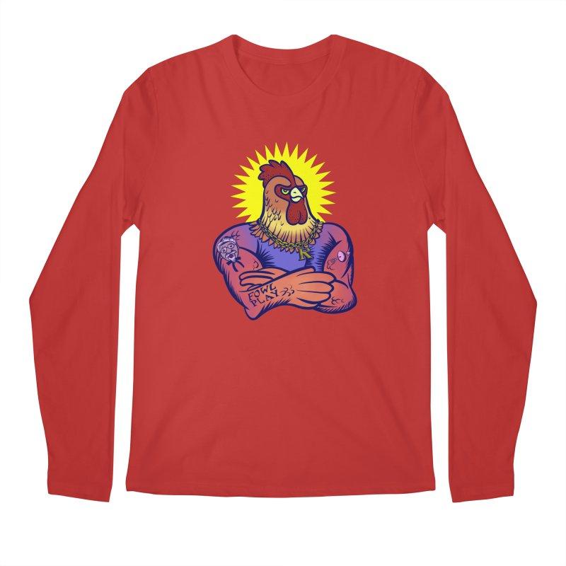 One Tough Bird Men's Longsleeve T-Shirt by dZus's Artist Shop