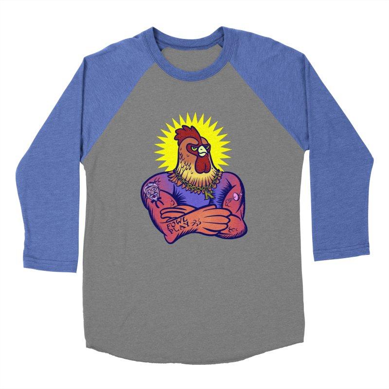 One Tough Bird Women's Baseball Triblend Longsleeve T-Shirt by dZus's Artist Shop