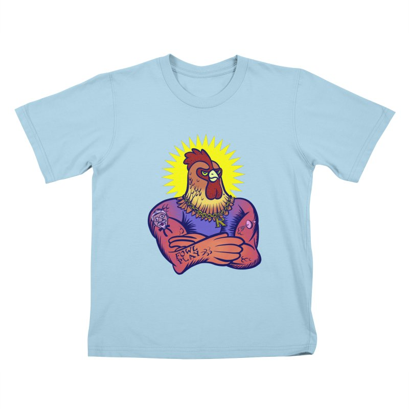 One Tough Bird Kids T-shirt by dZus's Artist Shop