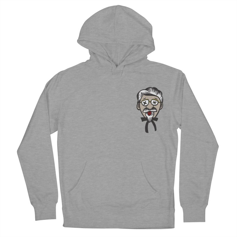 Fowl Play Women's French Terry Pullover Hoody by dZus's Artist Shop