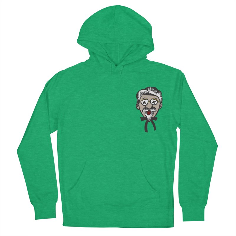 Fowl Play Men's French Terry Pullover Hoody by dZus's Artist Shop