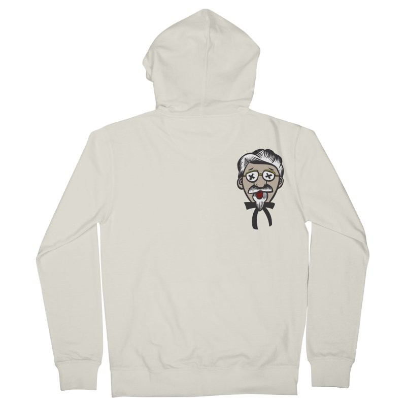 Fowl Play Women's French Terry Zip-Up Hoody by dZus's Artist Shop