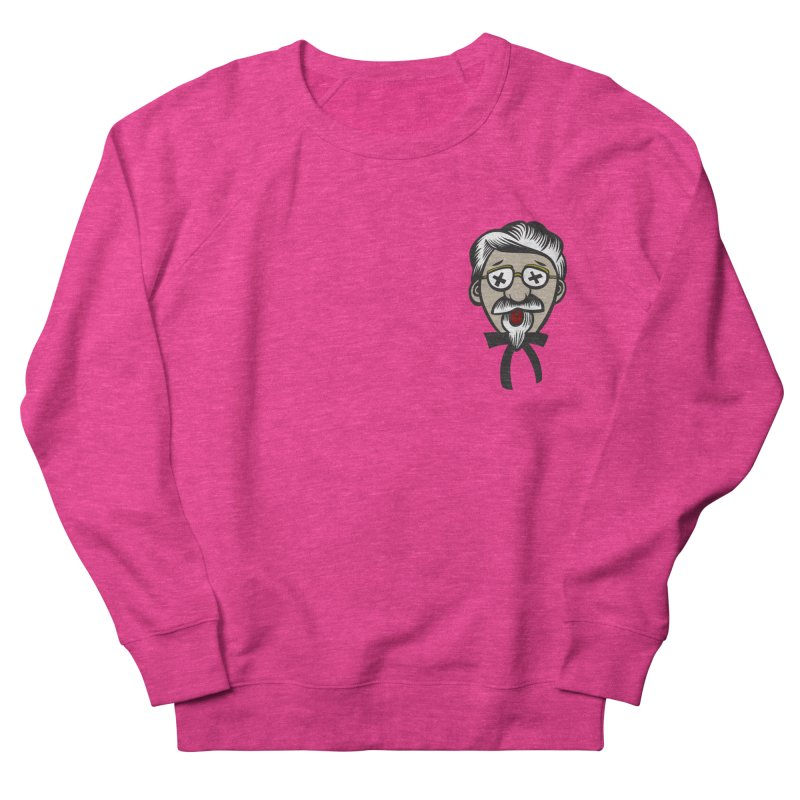 Fowl Play Women's French Terry Sweatshirt by dZus's Artist Shop