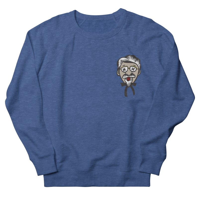 Fowl Play Men's French Terry Sweatshirt by dZus's Artist Shop