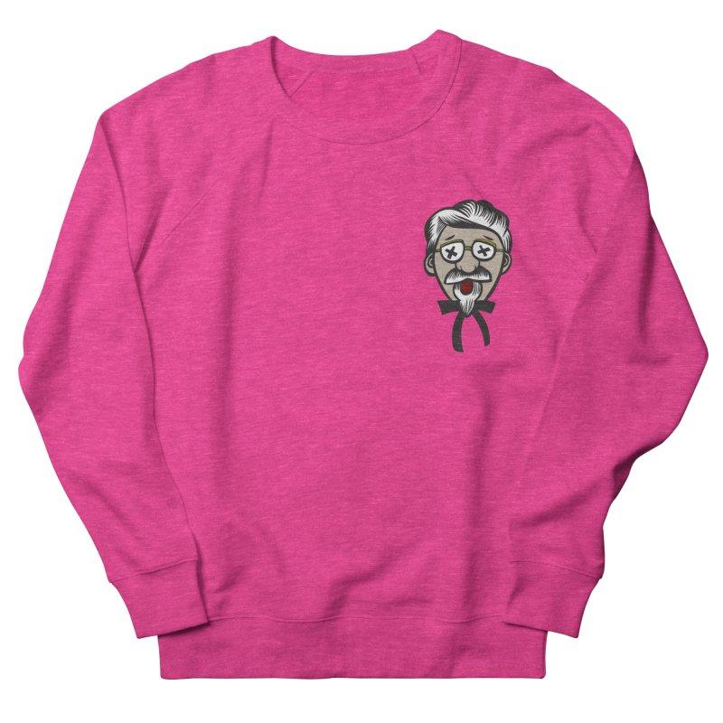 Fowl Play Men's French Terry Sweatshirt by dZus's Artist Shop