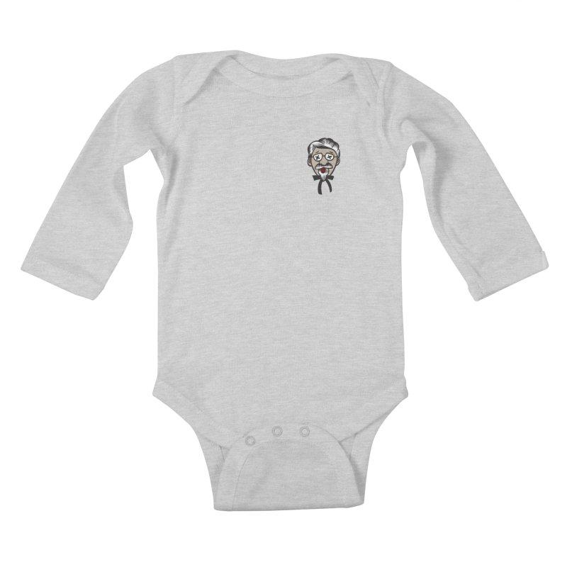 Fowl Play Kids Baby Longsleeve Bodysuit by dZus's Artist Shop