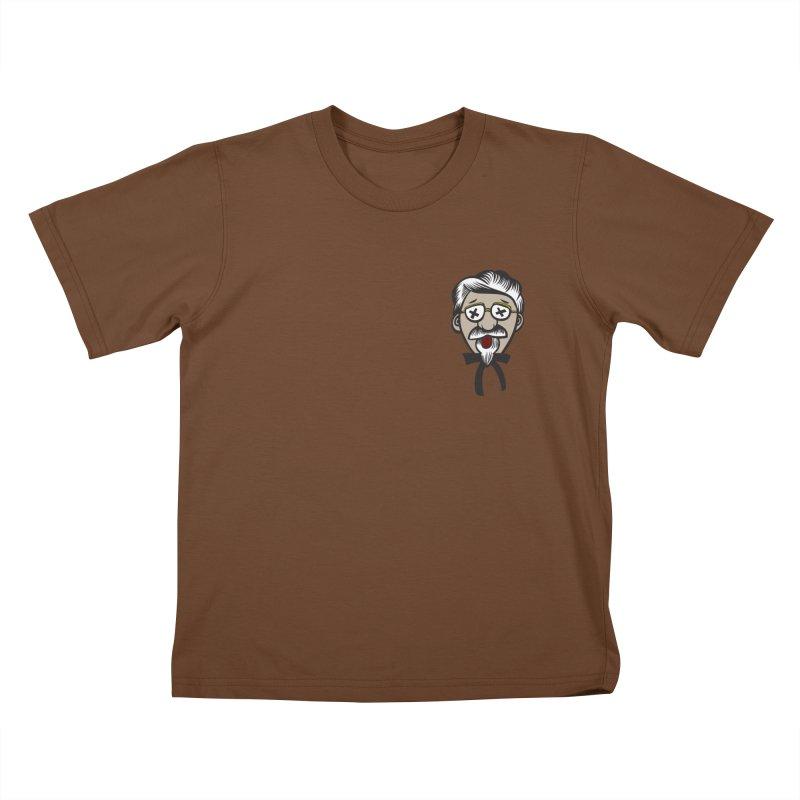 Fowl Play Kids T-shirt by dZus's Artist Shop