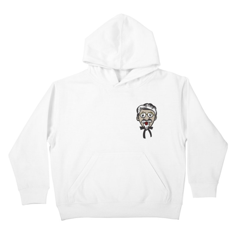 Fowl Play Kids Pullover Hoody by dZus's Artist Shop
