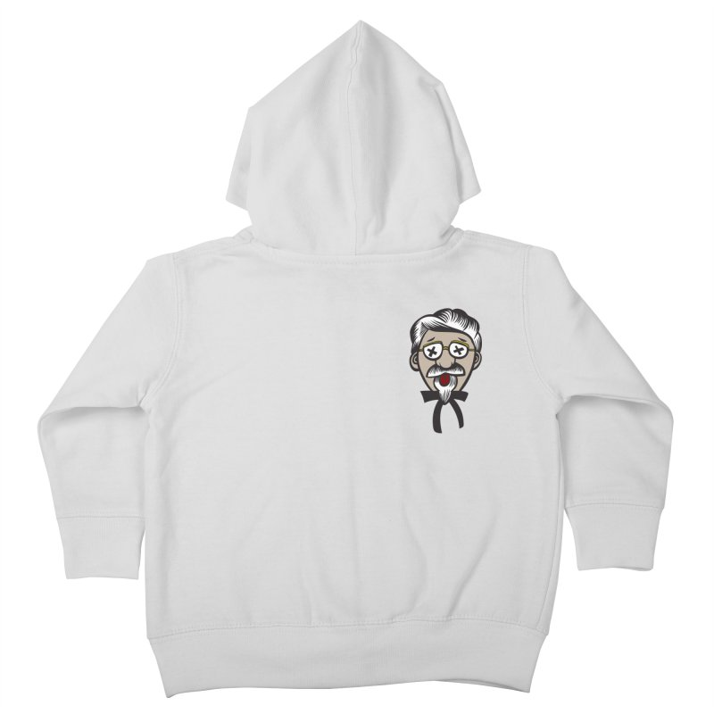 Fowl Play Kids Toddler Zip-Up Hoody by dZus's Artist Shop