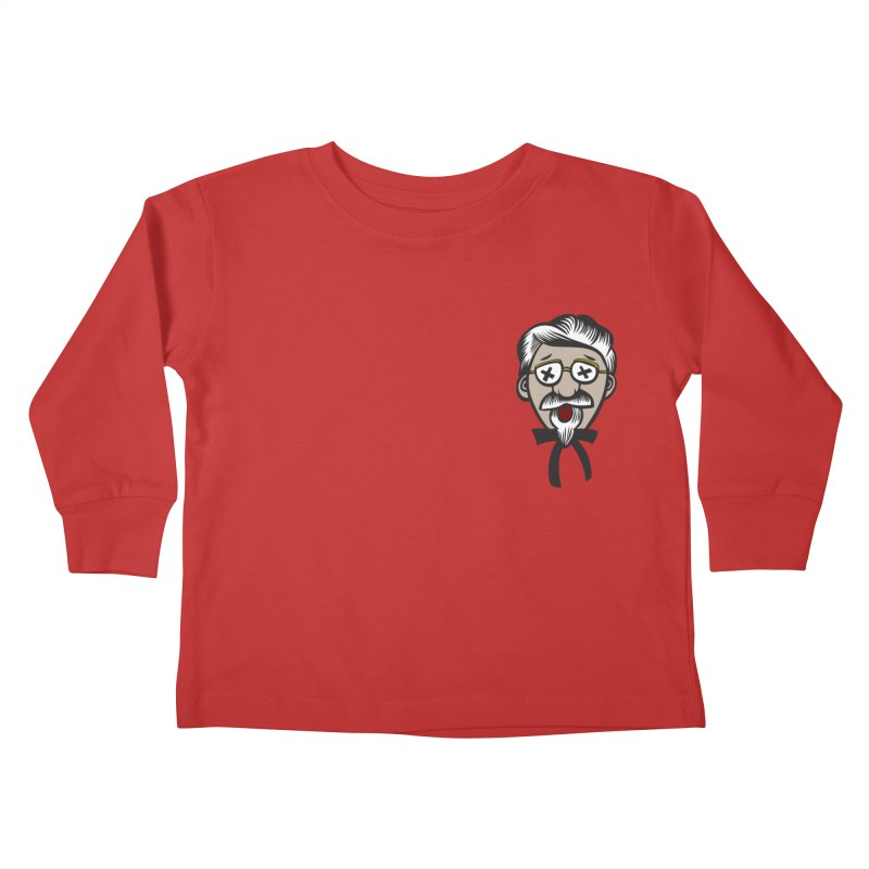 Fowl Play Kids Toddler Longsleeve T-Shirt by dZus's Artist Shop