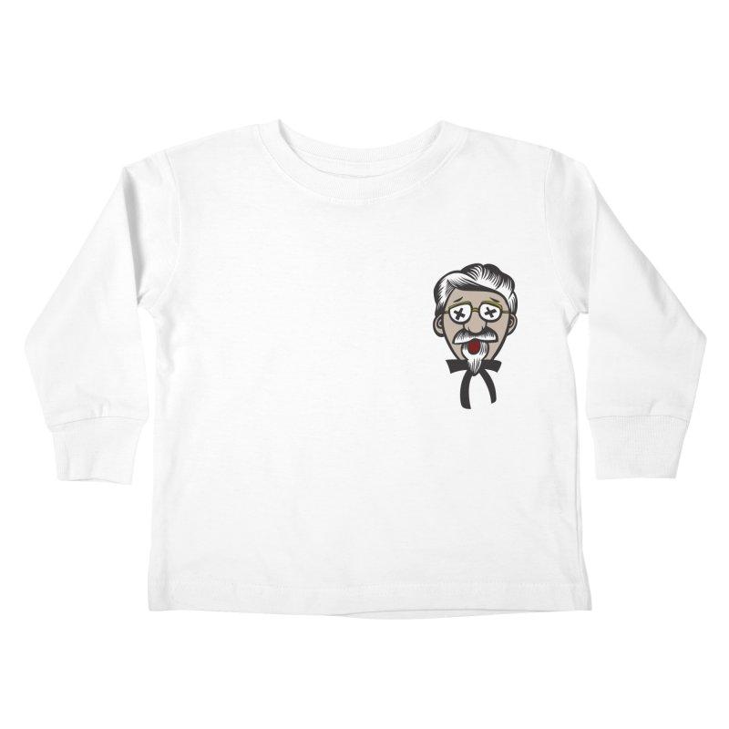Fowl Play Kids Toddler Longsleeve T-Shirt by dZus's Artist Shop