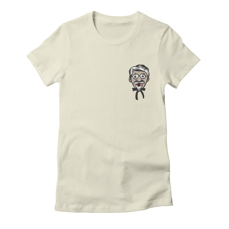 Fowl Play Women's Fitted T-Shirt by dZus's Artist Shop