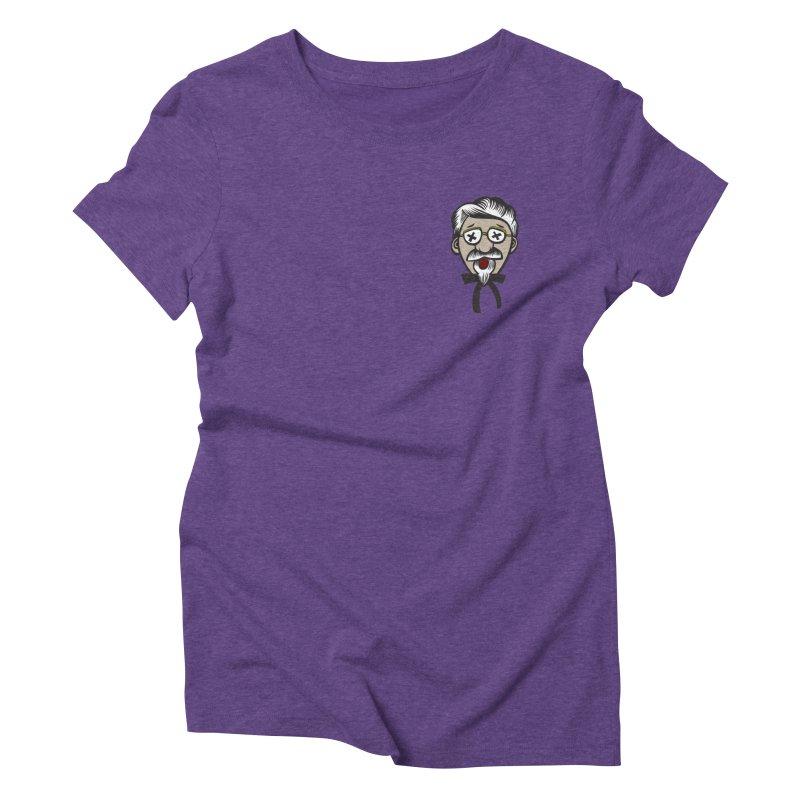 Fowl Play Women's Triblend T-shirt by dZus's Artist Shop